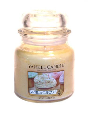 Yankee Candle Christmas Cookie Medium Jar Candle,Food /& Spice Scent
