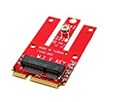 Best M Keys - Ableconn MPEX-M2WL Mini PCIe Adapter with M.2 Key Review