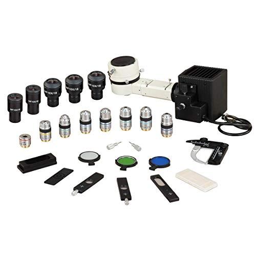 OMAX 50X-787.5X Trinocular Ore Petrographic Polarizing Microscope with Bertrand Lens and 10MP Camera