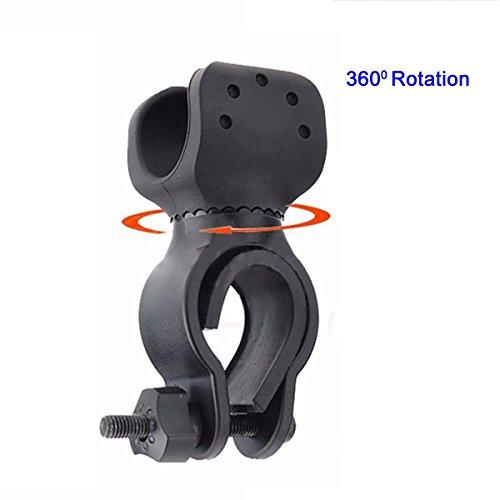 Universal Flashlight Holder (Black) - 3