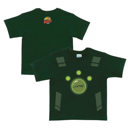Wild Kratts Creature Power Suit Forest Green - Green Wild T-shirt