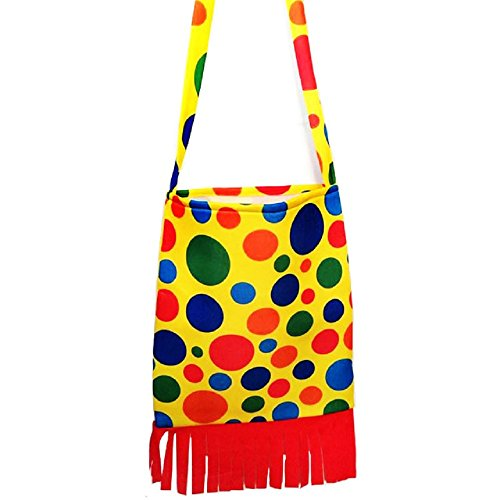 Clown Costume Accessories Clown Shoes and Clown Shoulder Bags (Clown Shoulder Bag) ()