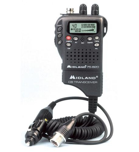 Handheld Mobile CB w/ Adapter Handheld Mobile CB w/ Adapter by Midland
