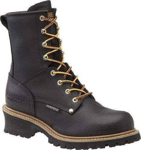 Work Boots, Steel, Mens, 12, EE, Lug, 8inH, PR ()