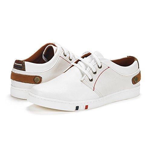 Bruno Marc Mens Sneakers Moda Ny-01 Oxfords 3-white