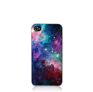 meet 0e955 7e128 SHHR Hard Back Case For iPhone SE/5S/5 - Galaxy Space