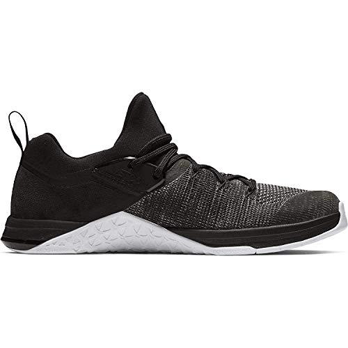 Nike Men's Metcon Flyknit 3 Training Shoes (Black/Black/White), 8.5 M UK