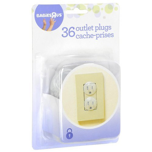 Babies R Us Outlet Plugs - 36 Count Keep Those Little Fingers...