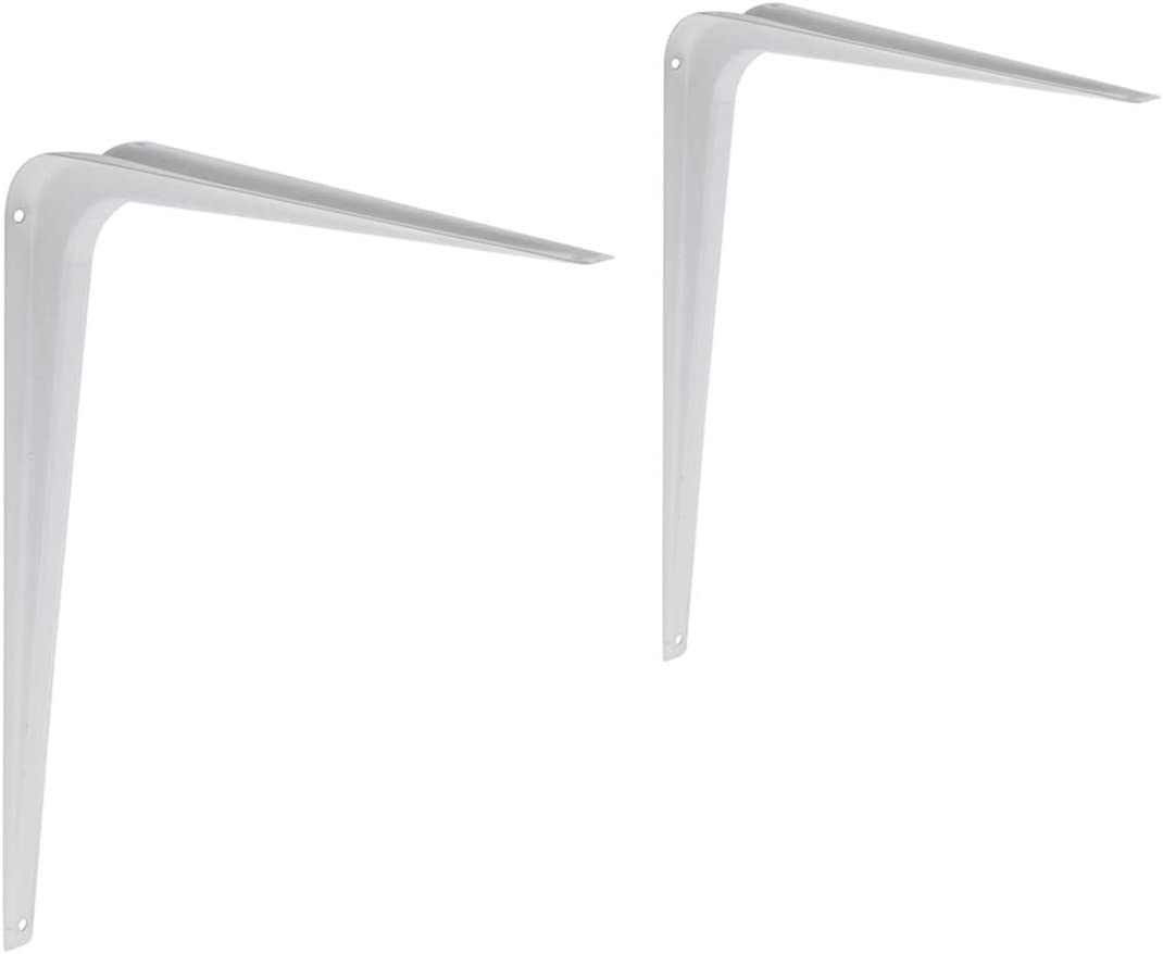 4 unidades Basics AB5400 Soporte para estante blanco