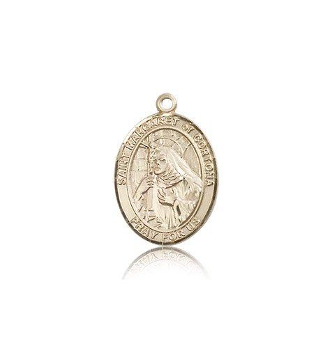 14 ktゴールドSt MargaretのCortona Medal B008JL658S