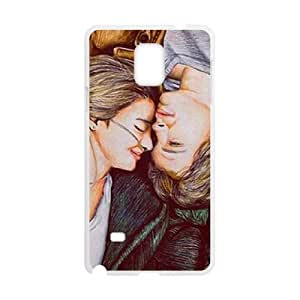 wugdiy Personalized Durable Case Cover for Samsung Galaxy Note 4 with Brand New Design Okay Okay
