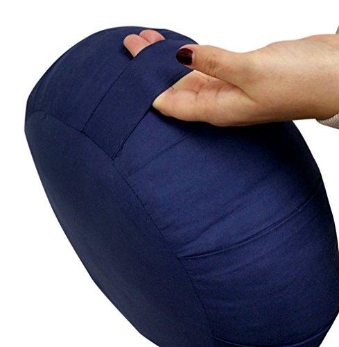 Zafu Meditation Pillow - Handle (Yoga)