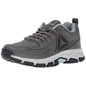 Reebok Women's Ridgerider Trail 2.0 Track Shoe, Ironstone/Seaside Grey/Coal/Skull Grey/Black/Silver/Pewter, 8.5 M US