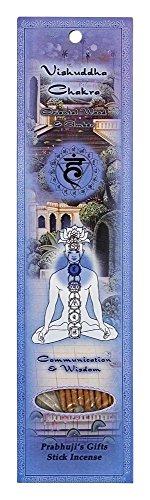 UPC 809581213553, Prabhuji's Gifts - Hand Rolled Incense - Vishuddha Chakra - 10 Stick(s)