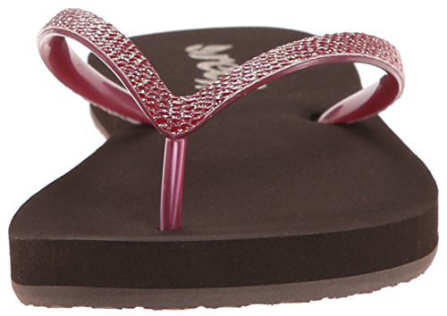 Berry Sassy Stargazer Sandal Brown Women's Reef FXwA44