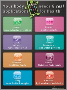 amazon com 8 applications for health poster industrial scientific