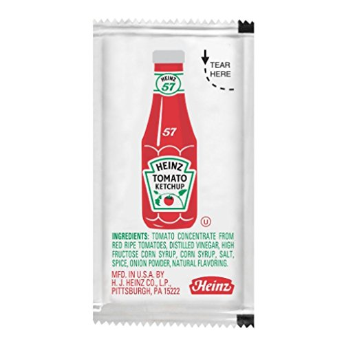 Heinz Ketchup Packet - .32 ozs. - Pack of 50