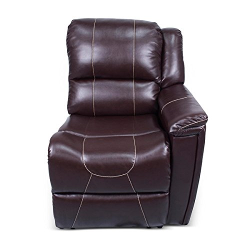 (Thomas Payne 386640 Left Hand Recliner - Heritage Series (Jaleco Chocolate))