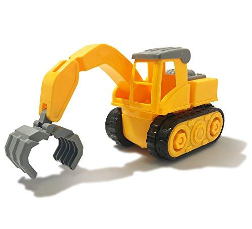 (Warp Gadgets - Construction Claw Truck - Create & Play Set - Build, Assemble, Take Apart, DIY)