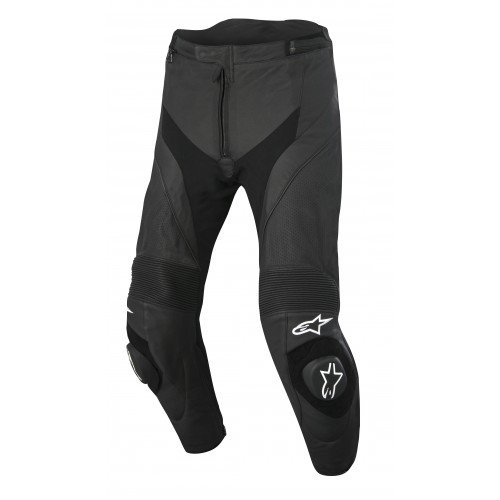 Alpinestars Missile Airflow Leather Motorcycle Riding Pants Black Mens Size (Alpinestar Motorcycle Pants)