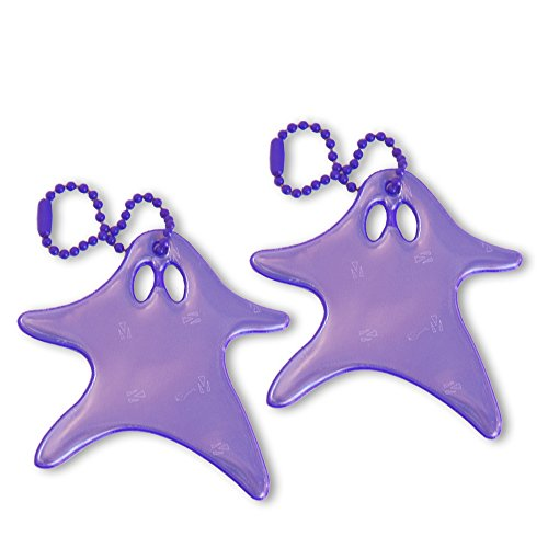 funflector Safety Reflector - Running Ghost - Purple - 2-pack for $<!--$10.99-->