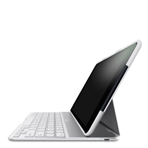 Belkin QODE Ultimate Keyboard Case for iPad Air (White) by Belkin