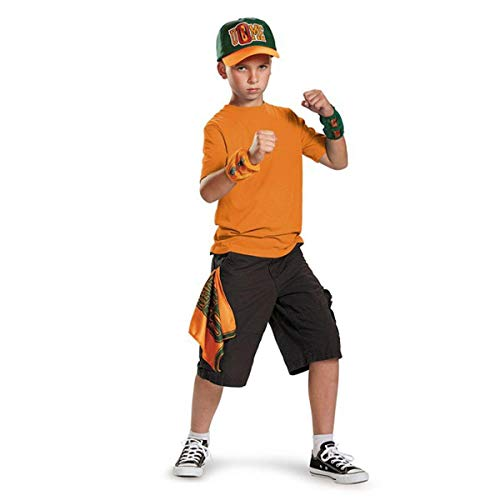 (John Cena Kit Child WWE Costume, One Size Child, One)