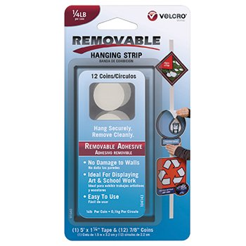 Removable Adhesive Velcro Hanging