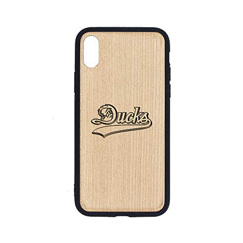 Long Island Ducks - iPhone Xs MAX Case - Maple Premium Slim & Lightweight Traveler Wooden Protective Phone Case - Unique, Stylish & Eco-Friendly - Designed for iPhone Xs MAX