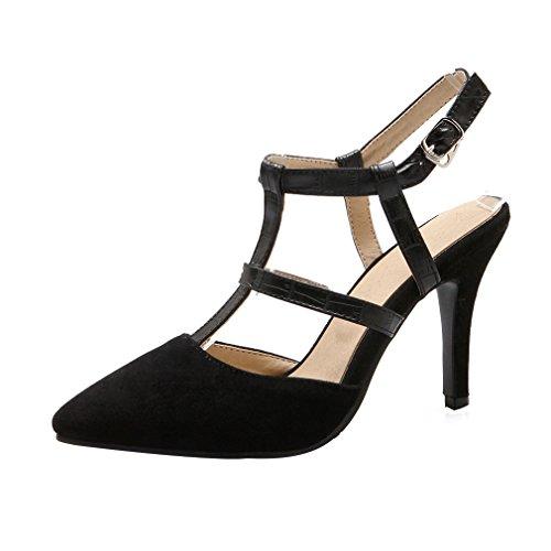 Schuhe Damen 9CM Tideway Calaier Pumps Schnalle Stiletto Yp47w7