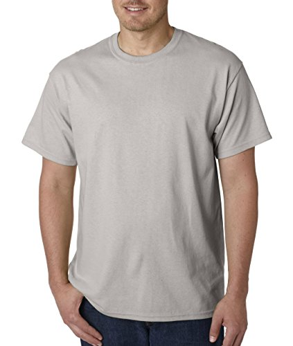Lilac Ice Apparel - Gildan Men's Heavy Cotton T-Shirt Ice Grey