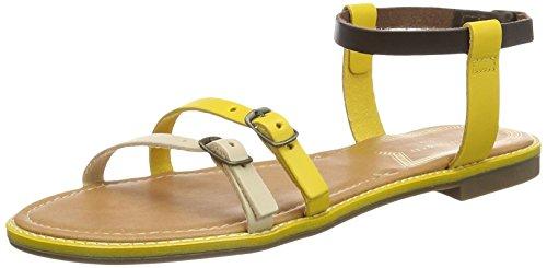 Medium Cotati Sandalias de Yellow Gladiador Amarillo Mujer Levi'S para 0qB6w