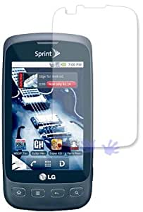LG LS670 Optimus S Crystal Clear Screen Protector