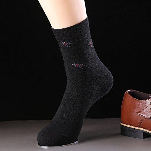 ZYTAN Chaussettes, chaussettes coton peigné, de sueur, respirant chaussette, Bas, chaussettes, chaussettes de sport occasionnels 5 paires