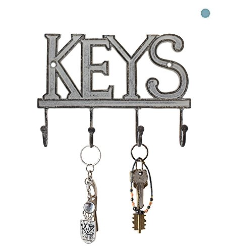 "Key Holder ""Keys"" – Wall Mounted Western Key Holder |"