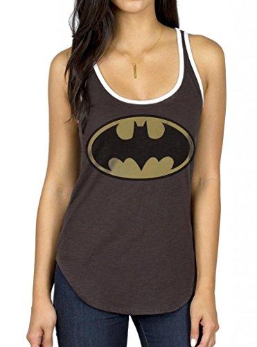 Batman+tank+top Products : Junk Food Batman Logo Blackwash Tank Top
