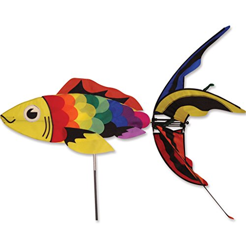 - Rainbow Koi Spinner