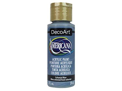 DecoArt Colonial Blue Americana Acrylic, 2 oz