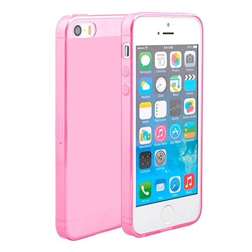 premium selection 6cccc a4755 Amazon.com: OFTEN Ultra Thin Slim Crystal Clear Soft TPU Cover Case ...
