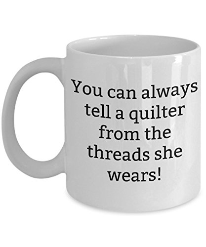 Amish Medallion Quilt (Funny Quilt Coffee Mugs –