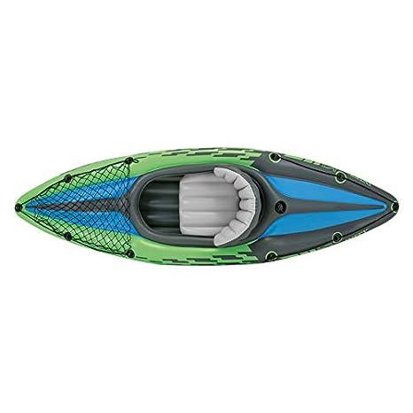 Intex 68305NP - Kayak hinchable Challenger K1 con un remo 274 x 76 ...