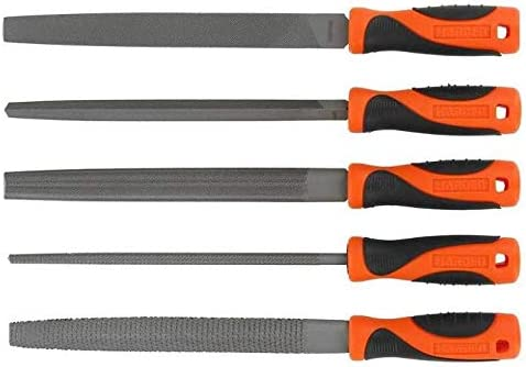 HARDEN Metal File Set and Wood rasp Durable T12 Steel HAR 610631 200mm Long