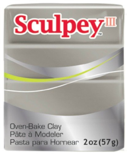 UPC 715891111055, Sculpey III Polymer Clay 2 Ounces-Pewter