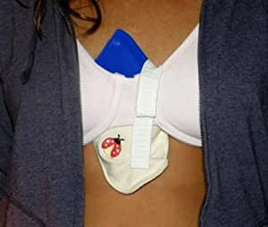 LadyBug Concealed Carry Bra Cleavage Gun Holster (SubCompact (compact pistols/snub revolvers))
