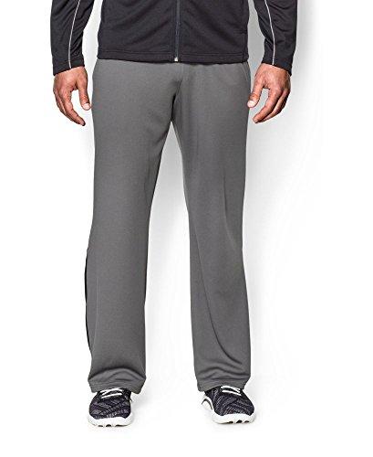 Under Armour Men's Reflex Warm-Up Pants, Graphite/Black, Large