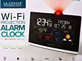 Best Projection Clocks - La Crosse Wi-Fi Projection Alarm Clock AccuWeather Forecast Review