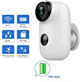 ANBAHOME Outdoor Security Camera,Wireless 1080P Rechargeable Battery Powered Surveillance System,WiFi IP Hd CCTV Video House Monitor