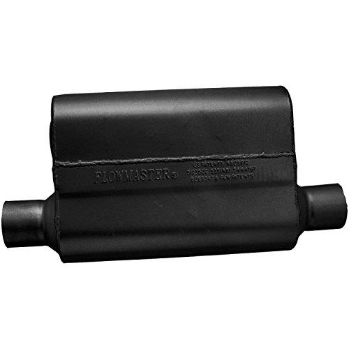 Flowmaster 942544 40 Delta Flow Muffler - 2.50 Offset IN / 2.50 Same Side OUT- Aggressive Sound