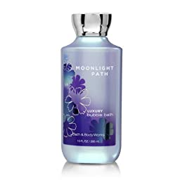 Bath Body Works Moonlight Path 10 oz Luxury Bubble Bath
