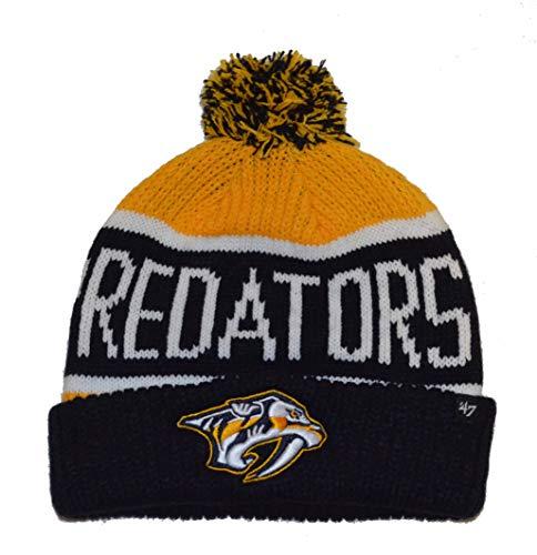 a094cb0afee Nashville Predators Cuffed Knit Hats.